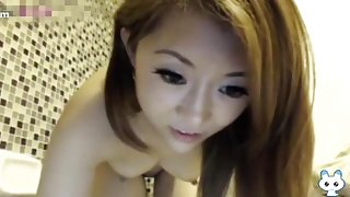 Peep! Live chat Masturbation! Asia gal Yoko chan Part.two of China Hen hot body