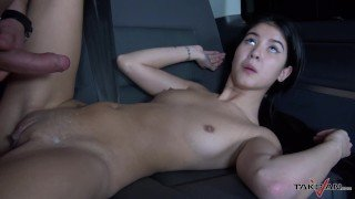 Takevan - Famous czech babe lost in the night and fucked hard in van