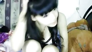 Peep! Live chat Masturbation! In-China Hen fair super cute breasty cutie Part.6