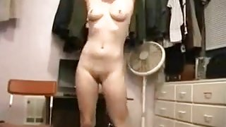 Unshaved  immature gal can't live out of hardcore fucking
