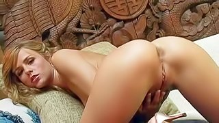 Crystal Klein is a nice looking adult model with pretty face, sexy perky ass and neatly shaved pussy. She rubs her smooth snatch for you to watch. Crystal Klein masturbates making her sparkling eyes on camera