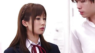 Hottest Japanese chick Minami Kojima in Amazing bdsm, college JAV scene