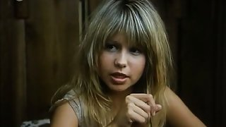 Pia Zadora nude as she lowers herself into a bath and