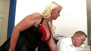 Bbw Secretary Fucks Her Boss